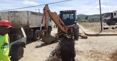 Sustitución de 100 metros de colector son realizados en  La Cañada