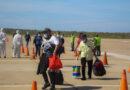 Llegan al país 133 connacionales por el Aeropuerto Josefa Camejo