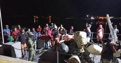 Guardia Costera interceptó botes con 63 venezolanos que trataban de llegar a Trinidad y Tobago