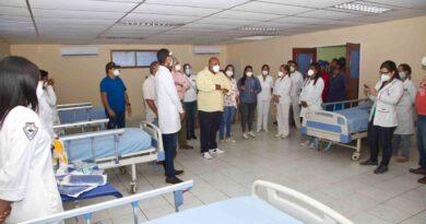CCDV de Miranda entrega sala de hospitalización y agita a militancia de Las Velitas