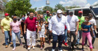 Agitación del comando revolucionario de Miranda se fue a Guzmán Guillermo