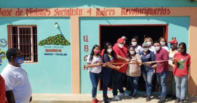 La Cañada fue tomada por el CCDV con reinauguración de la base de misiones