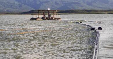 Hidrofalcón realiza trabajos para reactivación de balsa toma en El Isiro