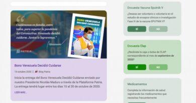 Activan registro de voluntarios para la vacuna Sputnik V en el sistema Patria
