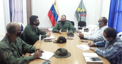 Lineamientos de seguridad en elecciones parlamentarias trazó la ZODI-12 Falcón