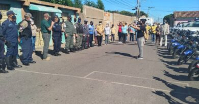 Seguridad ciudadana desplegó plan de prevención en sector Cabudare de Coro