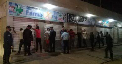 Ejecutan operativo para despejar colas de estaciones de servicio en Coro (FOTOS)