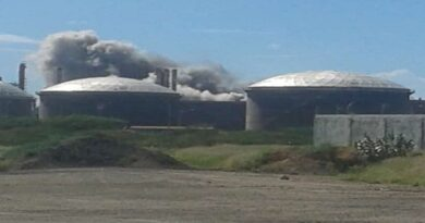 Pdvsa investiga explosión en unidad de destilación de la refinería de Amuay
