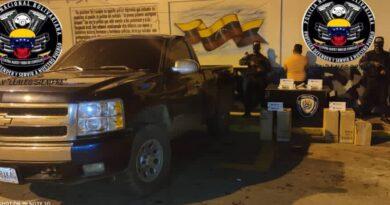 Cayó traficante de drogas y cigarros en Pueblo Nuevo de Paraguaná