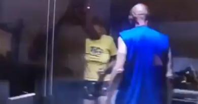 Coronel (r) fue detenido por golpear brutalmente a su esposa tras ser grabado por su hijo