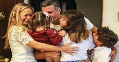 Así fue el reencuentro de Leopoldo López con su familia