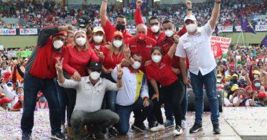 Falcón se desbordó para recibir al candidato Diosdado Cabello