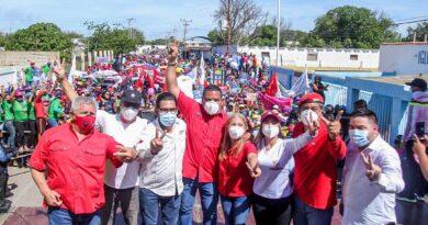 Carirubana-Los Taques cerró campaña y ratificó la victoria Patria el 6D