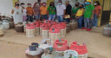 Gasfalca distribuyó Gas Doméstico en Dabajuro