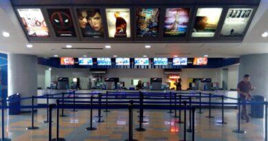 Cines abrirán este miércoles con capacidad limitada a 30 por ciento
