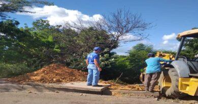 Hidrofalcón y alcaldía de Carirubana sustituyen colector de aguas servidas en Las Adjuntas