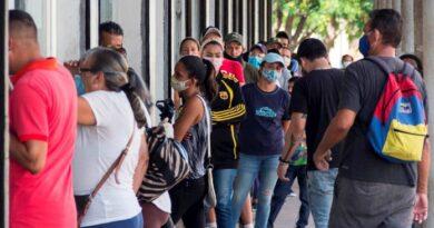 Venezuela suma 1.009 positivos y 21 fallecidos por covid