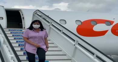 Delcy Rodríguez arribó a Cuba para presentar «Ley Antibloqueo»