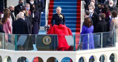 Lady Gaga y JLo deslumbran en investidura de Joe Biden