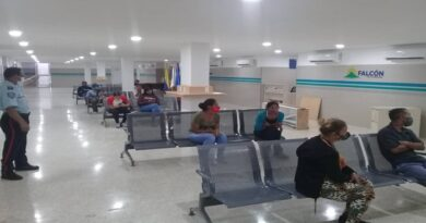 Consulta externa del hospital Calles Sierra al servicio de los Falconianos