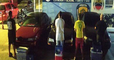 Paraguaná: Estaban de rumba y pasaron la resaca en una celda