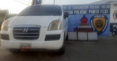 PNB recuperó 350 bombillos de Corpoelec y apresó a comerciante en Punto Fijo