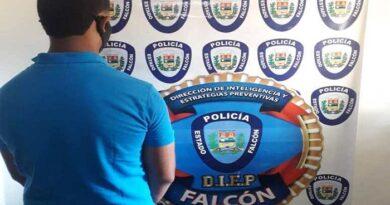 PoliFalcón detiene a joven por presunto abuso sexual