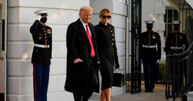 «Nos volveremos a ver»: Donald Trump deja la Casa Blanca horas antes de terminar su mandato