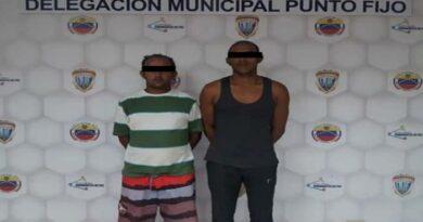 Apresan a dos piratas de mar en Los Taques