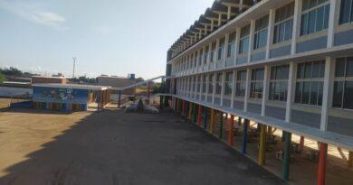 Atracadores arremetieron contra el colegio San Francisco Javier