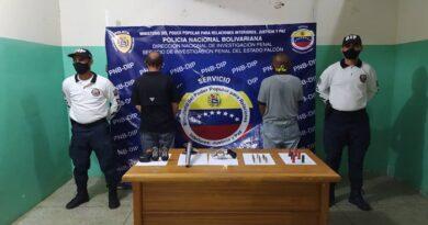 PNB apresó a dos hombres armados en la Falcón – Zulia