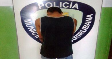 Policarirubana detiene a hombre por agredir a su pareja en Punto Fijo