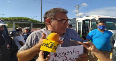 Transportistas de Carirubana piden insumos, gasolina y aumento del pasaje