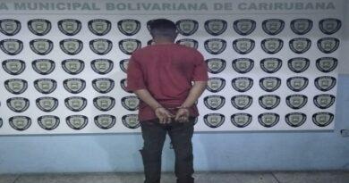 Presunto violador de su hijastra fue apresado por Policarirubana