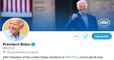 Twitter cedió a Joe Biden la cuenta oficial del presidente de EEUU