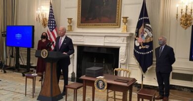 Biden alerta que EEUU pasará las 500 mil muertes por covid en febrero