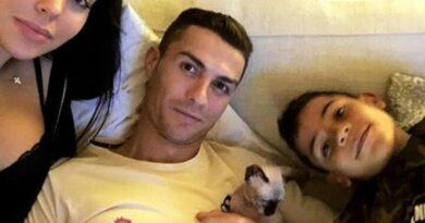 Atropellaron al gato de Cristiano y lo trasladaron en jet privado a España para que se recupere