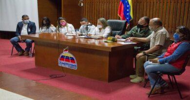 Ministra de servicio penitenciario realizó junta de seguridad con organismos de justicia del estado