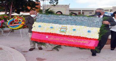 Municipalidad e instituciones ofrendaron en el Día de Punto Fijo