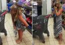 VIDEO: Una mujer se quita el tanga y lo usa como mascarilla para no ser expulsada de una tienda