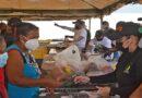 Súper feria de alimentos beneficia al menos 2.000 personas cada sábado