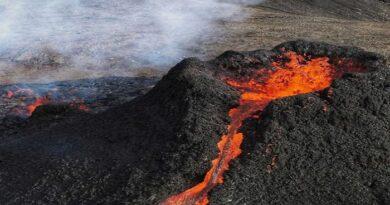 La lava del volcán de La Palma acelera su velocidad