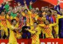 Messi lideró al Barcelona hacia el título de la Copa del Rey