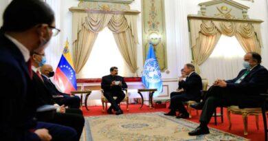 Maduro se reúne con director ejecutivo del Programa Mundial de Alimentos de la ONU