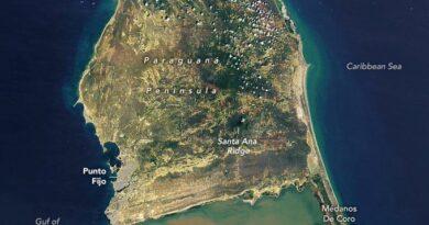 La fotografía de la NASA sobre Paraguaná que se viralizó en las redes