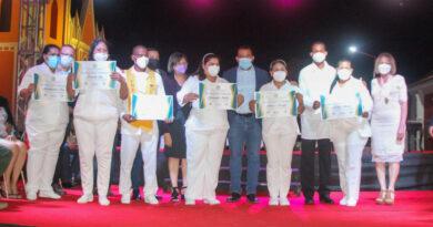 Condecorados profesionales de la enfermería con la  orden Dr. José Gregorio Hernández