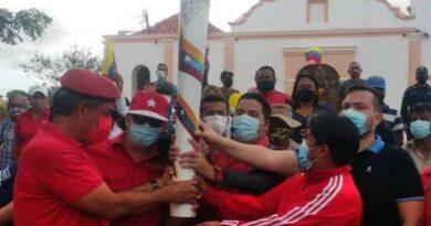 Con acto simbólico el municipio Los Taques celebró 200 años de la gesta independentista