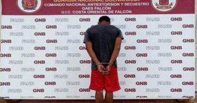 Gaes 13 Falcón apresa a un fugado del retén de menores de Carabobo
