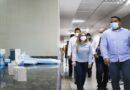 Gobernador Clark entregó 48 camas para pacientes Covid en Paraguaná