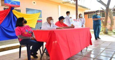 Comité Anti Covid-19 de Miranda realizó inducción en la comunidad Velitas IV